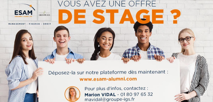 Campagne de placement en stage